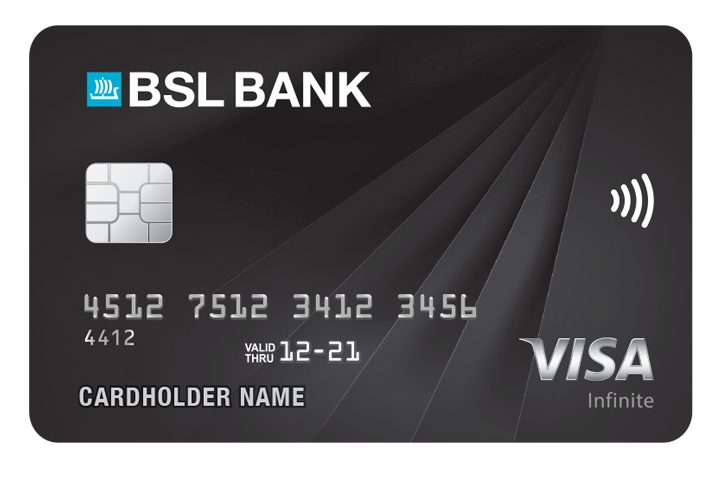 BSL BANK infinite-card